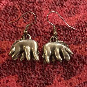 Eeyore Donkey Pierced earrings wires Pooh